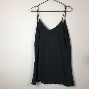 Brandy Melville sheer black mini dress